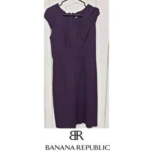 Purple Banana Republic Dress